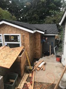 Building the new shack